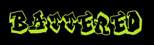 Battered page logo