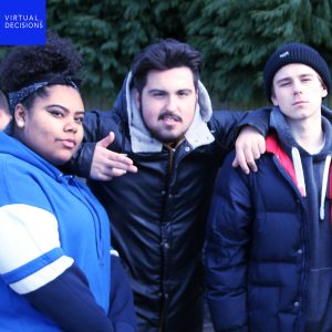 Virtual-Discisions-Actors-04 - Amirah Harvey-Head, Josh Bricknall & Fin Gardner